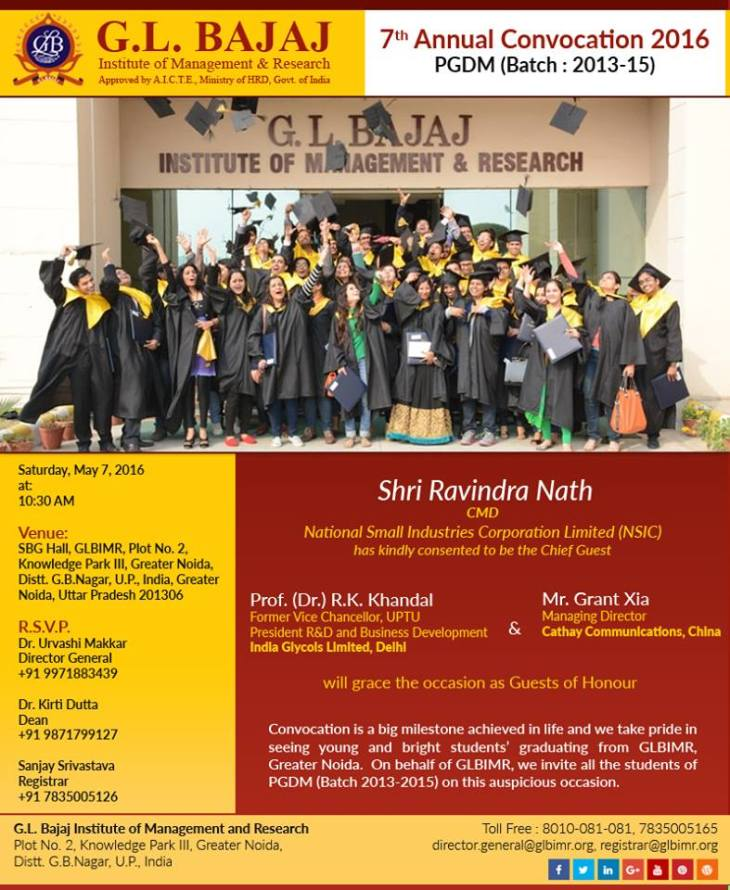 7th-Annual-Convocation-at-GLBIMR-PGDM