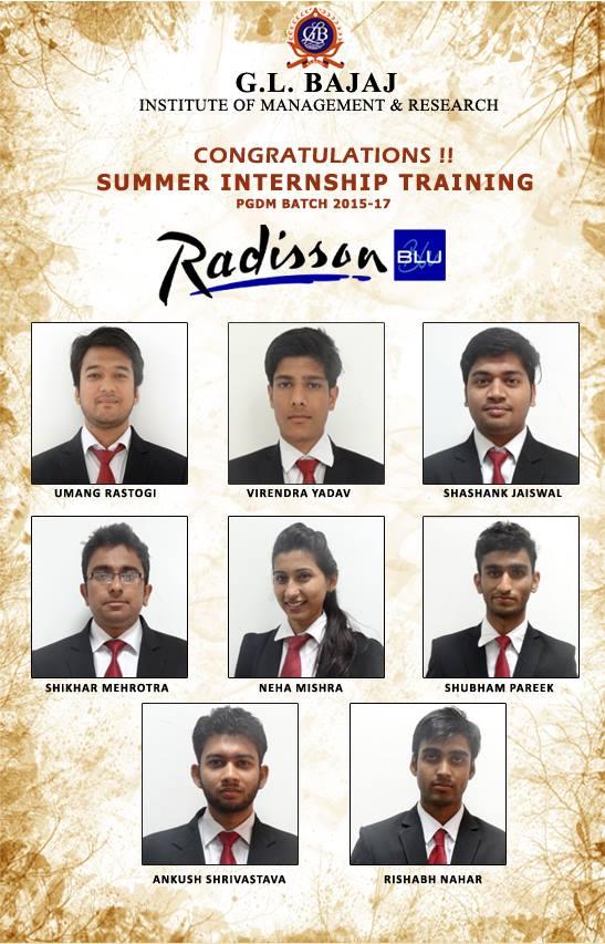 GLBIMR-PGDM-Students-in-Radisson-Blu