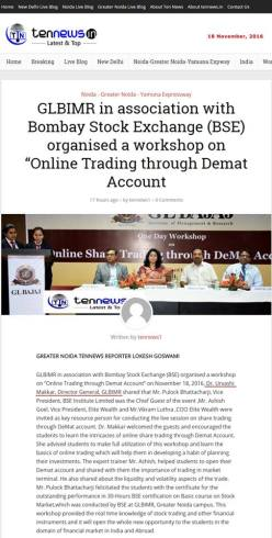 workshop-on-online-share-trading-through-demat-account-glbimr-21