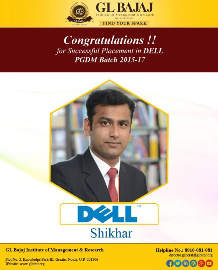 dell-pgdm-placement-glbajaj