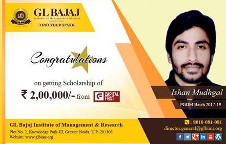 scholarship-Ishan-Mudhgal-glbimr