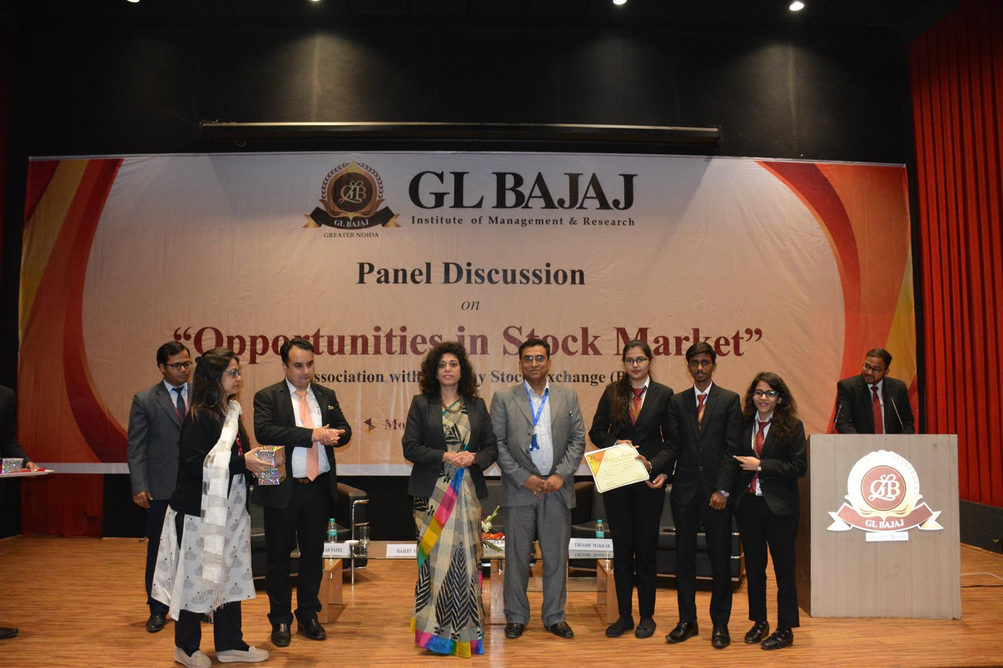 "Panel Discussion on ""Opportunities in Stock Market"" « GL Bajaj"