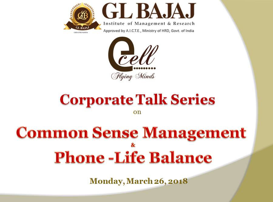 comman-sense-and-Phone-Life-Balance-glbimr