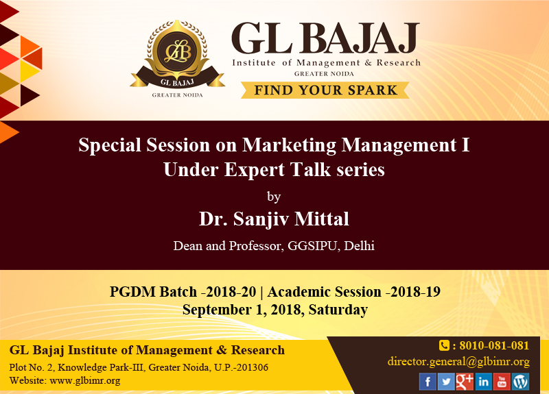 glbimr-special-session-on-marketing-management-poster